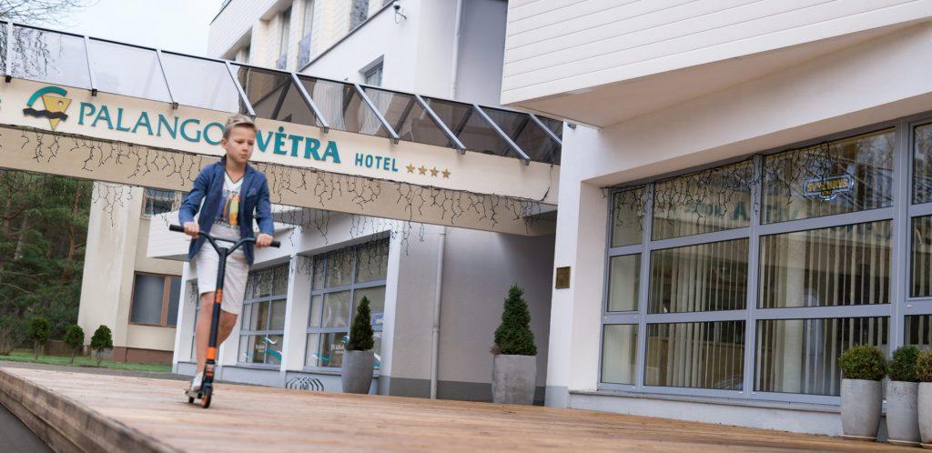 Фото отеля Palangos Vėtra 4* № 7