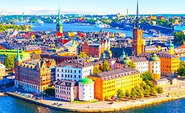 Круиз: Рига-Стокгольм-Турку-Хельсинки-Таллинн 5 дней/ 2 ночных переезда